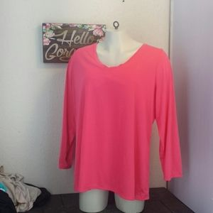 Lane Bryant long sleeve tee shirt top 26/28